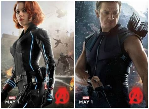 Avengers Age Ultron Character Posters New Trailer
