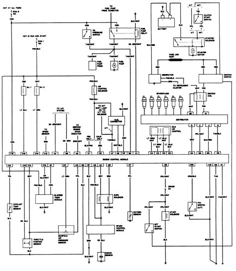Alternator Wiring Diagram For Chevy Blazer