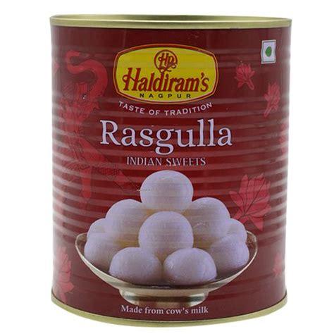 Buy Haldirams Rasgulla 1 Kg Tin Online At Best Price ...