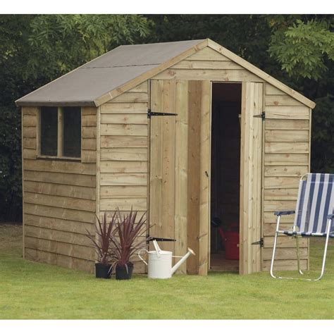 shed 7x7 forest garden 7x7 overlap shed with doors
