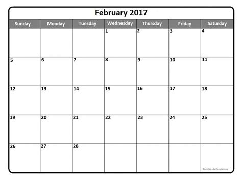 calendar 2017 template february february 2017 calendar nz weekly calendar template