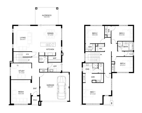 wide house designs perth wa webb brown neaves