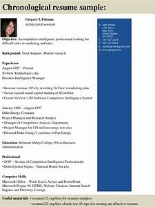 Marketing Resume Format Top 8 Architectural Assistant Resume Samples