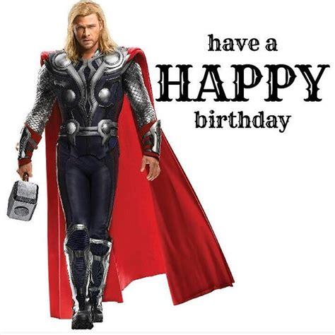 Thor Birthday Meme - chris hemsworth s birthday celebration happybday to