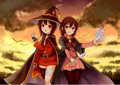 Konosuba Megumin Anime Blessing Wonderful Desktop Wallpapers