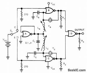 7625 And 816 Mhz - Communication Circuit