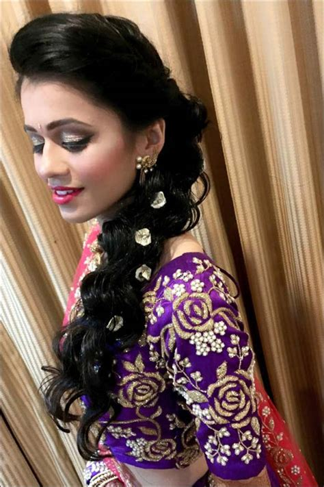 indian hair style south indian bridal hairstyles for receptions 2816