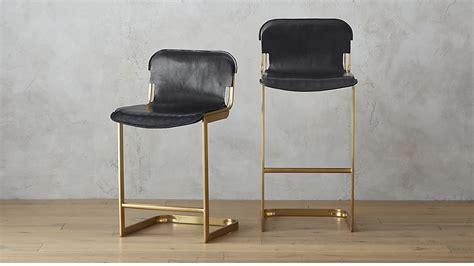 storage furniture kitchen rake brass bar stools cb2