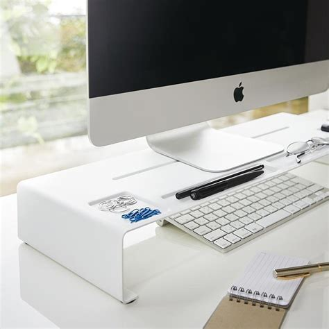 ecran de bureau réhausseur d écran organiseur de bureau monitor stand