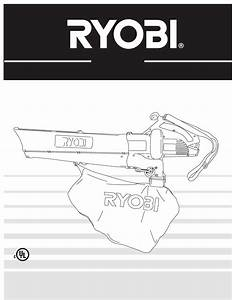 Ryobi Blower Resv1300 User Guide