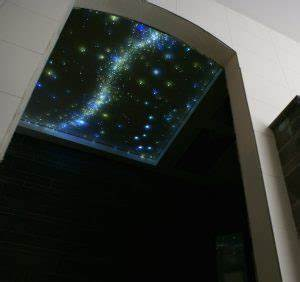 plafond ciel etoile led fibre optique chambre mycosmos With carrelage adhesif salle de bain avec eclairage par fibre optique led