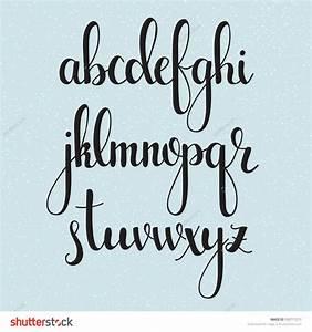 25+ best ideas about Modern calligraphy alphabet on ...