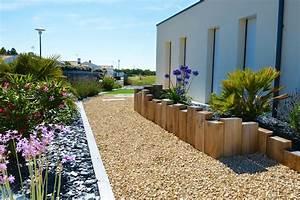 Bordure De Jardin Bois : best bordure jardin vendee ideas design trends 2017 ~ Premium-room.com Idées de Décoration