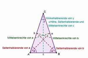 Höhe Gleichschenkliges Dreieck Berechnen : gleichschenkliges dreieck mathe artikel ~ Themetempest.com Abrechnung