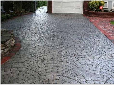 driveway concrete designs concrete driveway construction basics the concrete network