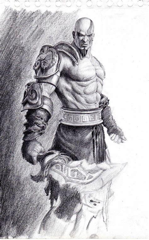 Kratos By Vviil On Deviantart Kratos God Of War God Of