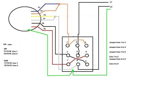 electric motor wiring diagrams single phase leeson electric motor reversing drum switch