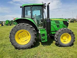 2018 John Deere 6110m Tractor For Sale  224 Hours