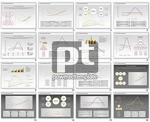 Data Driven Line Diagram For Powerpoint Presentations