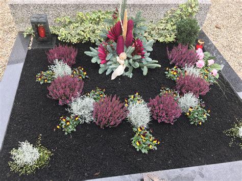 Garten Im Herbst Graben by Grabbepflanzung Herbst Grab Grabbepflanzung Friedhofs