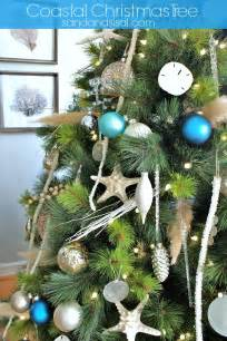 Pine Cone Christmas Tree Decorating Ideas by Coastal Christmas Tree Sand And Sisal