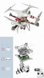 A Teardown Of The Phantom 2 Vision Plus Drone From Dji
