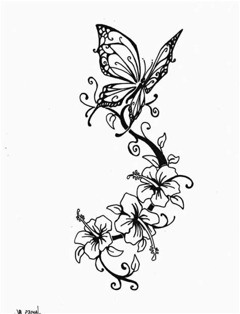 Interessante Ideenfuss Schmetterling by Schmetterling Und Blumen Interessante Tattoovorlagen F 252 R