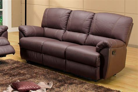 salon canap 233 relax en cuir buffle 3 2 places fauteuil relaxation ebay