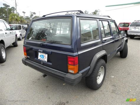 blue grey jeep cherokee 1995 dark montego blue pearl jeep cherokee sport 43991235