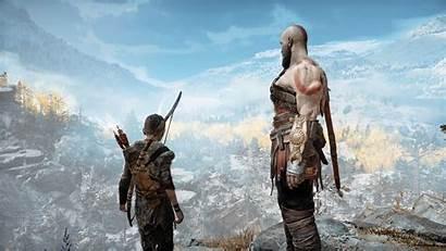 God War Kratos Pc 4k Atreus Wallpapers