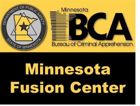 criminal bureau of investigation mn investigations minnesota fusion center