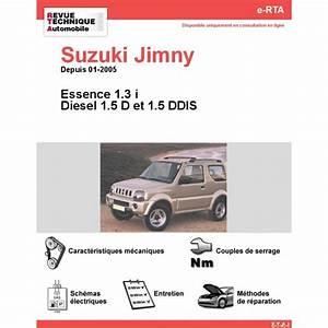 Suzuki Jimny Essence : revue technique suzuki jimny essence et diesel rta ~ Farleysfitness.com Idées de Décoration