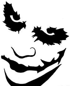 Scary Pumpkin Designs Stencils