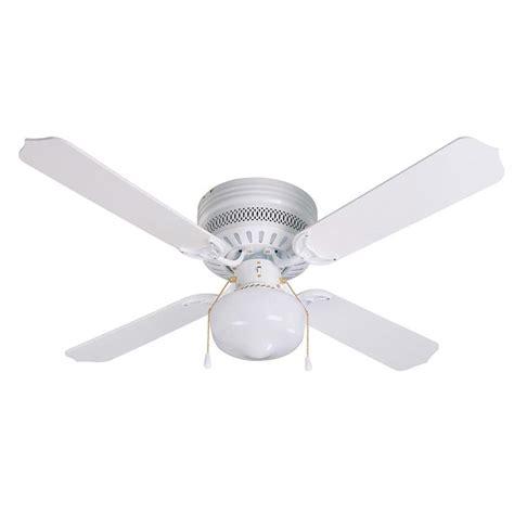 42 flush mount ceiling fan without light shop litex celeste hugger 42 in white flush mount indoor