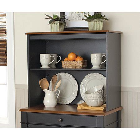Better Homes And Gardens Hutch better homes and gardens autumn storage hutch black