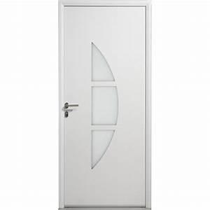 porte d39entree aluminium omaha artens poussant gauche h With porte d entree 80 cm largeur