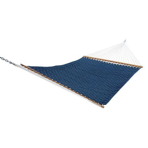 Soft Hammock by 13 Ft Large Soft Weave Hammock In Blue Qweavebl The