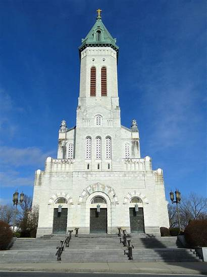 Dame Catholic Southbridge Notre Church Ma Massachusetts