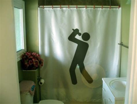 Karaoke Time Shower Curtain Sing Your Heart Out Singing Echo