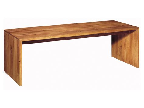 table bureau design bureau table en bois massif ponte by e15 design philipp