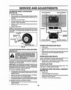 Craftsman 917258555 User Manual Tractor Manuals And Guides