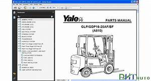 Yale Forklift Glp  Gdp16 Bf  A810  Pdf Epc Full