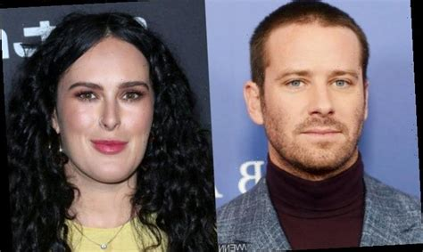 Armie Hammer Not 'Seriously Dating' Rumer Willis After PDA ...