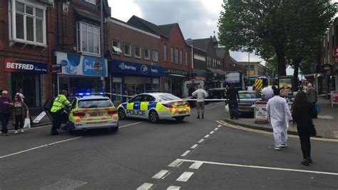 breaking ongoing police incident  kings heath central