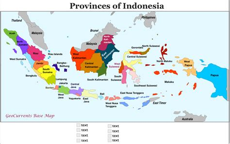 provinces  indonesia map