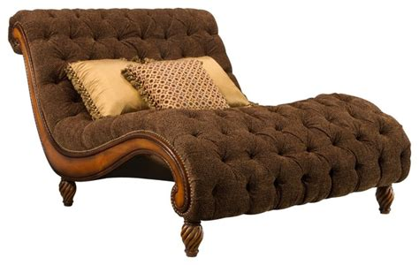 dinah chaise and a half traditional indoor chaise
