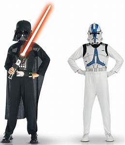 Star Wars Kinder Kostüm : star wars darth vader und clone troopers kost m f r kinder kost me f r kinder und g nstige ~ Frokenaadalensverden.com Haus und Dekorationen