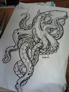 Best 20+ Kraken tattoo ideas on Pinterest | Octopus sketch ...