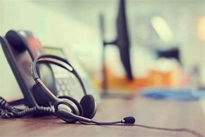 Customer Call Office Desk Telemarketing Focus Telephone