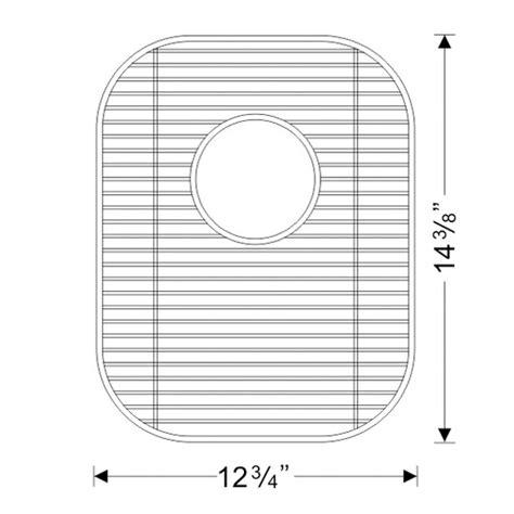 Stainless Steel Sink Grid 24 X 12 by Kitchen Sinks Gws1315 Stainless Steel Sink Bottom Grid
